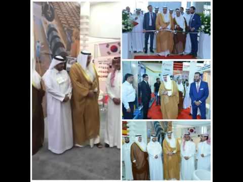 """الشيخ فيصل الحمود افتتح المعرض الدولي للقطاعات الإنشائية """"THE BIG 5 KUWAIT"""" بحضور عدد من السفراء"""
