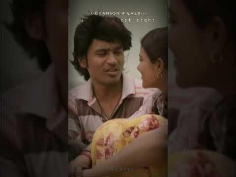   Vada Chennai   Dhanush Romantic Love Scene 💖 Full Screen WhatsApp Status Video...💞