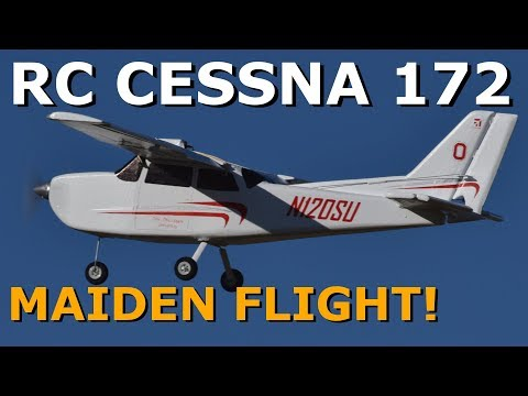 Scratch Built Cessna 172 Skyhawk | Flite Test