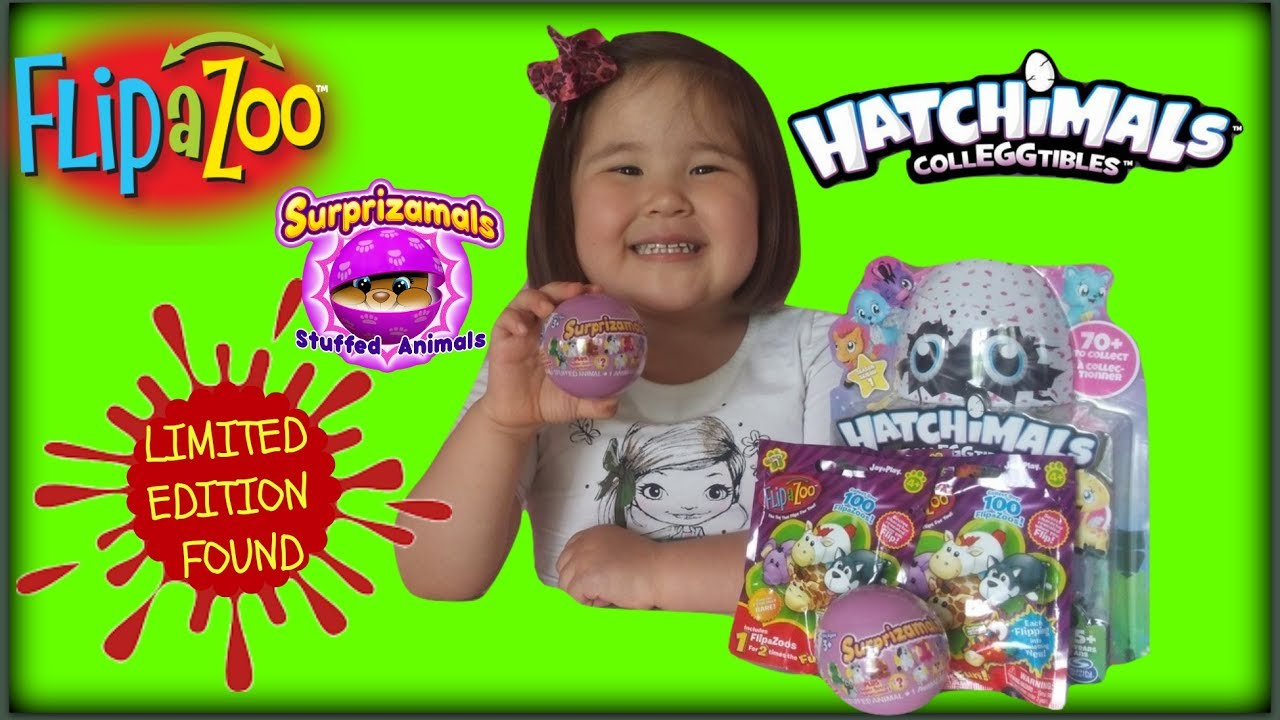 Opening Hatchimals Colleggtibles Eggs Surprizamals Flip