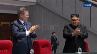 Reunión de los presidentes de las dos Coreas