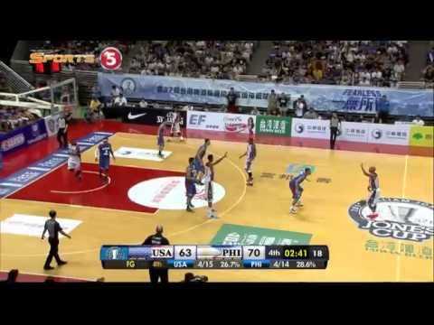 Philippines vs. USA-Select – Q4 | JONES CUP 2015