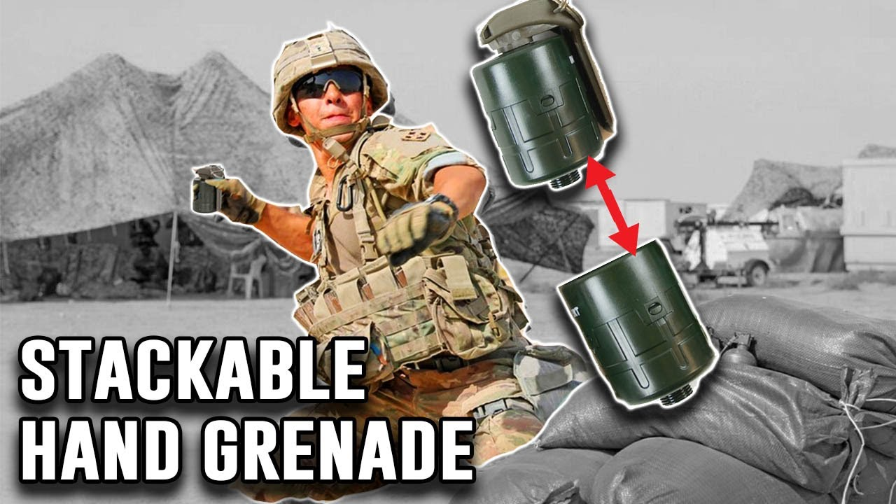 Modular Stackable Hand Grenades! What Could Go Wrong?
