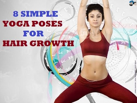 12 Simple Yoga Poses for Hair Growth and Prevent Dandruff and Hair ...