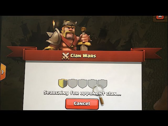 coc matchmaking