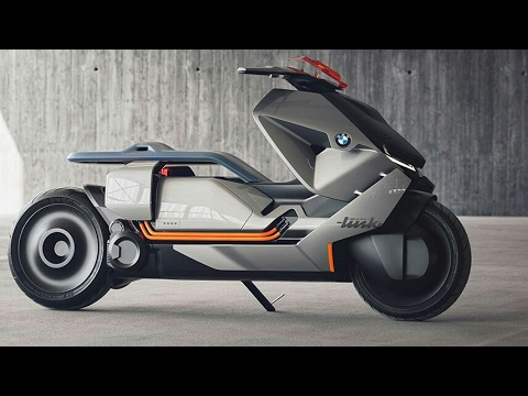 BMW Concept Link Electric Scooter Concept Revealed