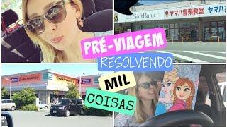 Vlog : Pré-viagem, Drugstore, AutoBacs, Hyakuen, Softbank, Shimamura