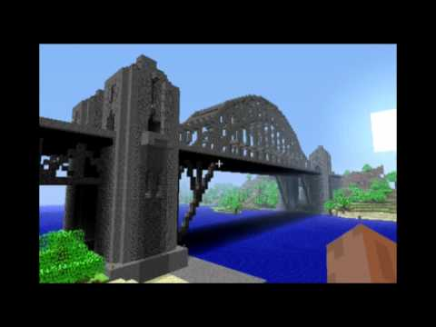 minecraft:-harbour-bridge-(sydney-harbour-bridge-inspiration)