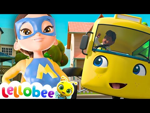 Educational Videos for Toddlers   Super Mom   Nursery Rhymes   Baby Songs   Little Baby Bum