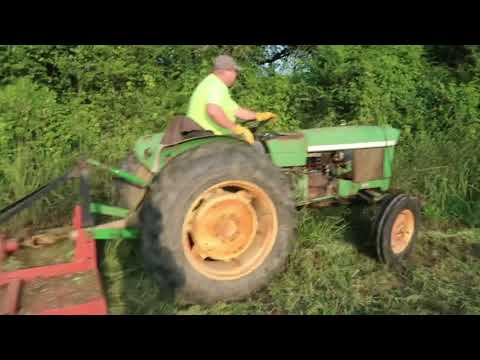 2 Brothers, 2 John Deere Tractors & 1 Field