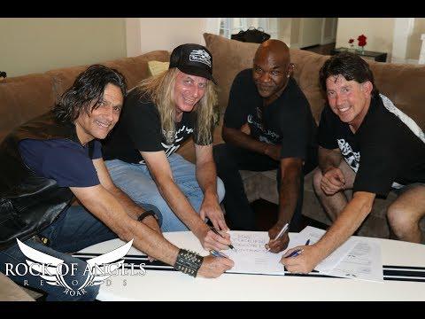 STEEL PROPHET Signs with ROAR! Rock Of Angels Records!
