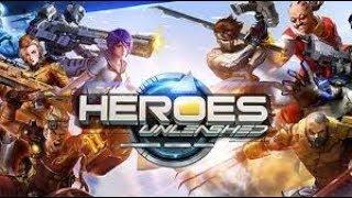 Heroes Unleased Gameplay | MOBA + FPS Genre Game
