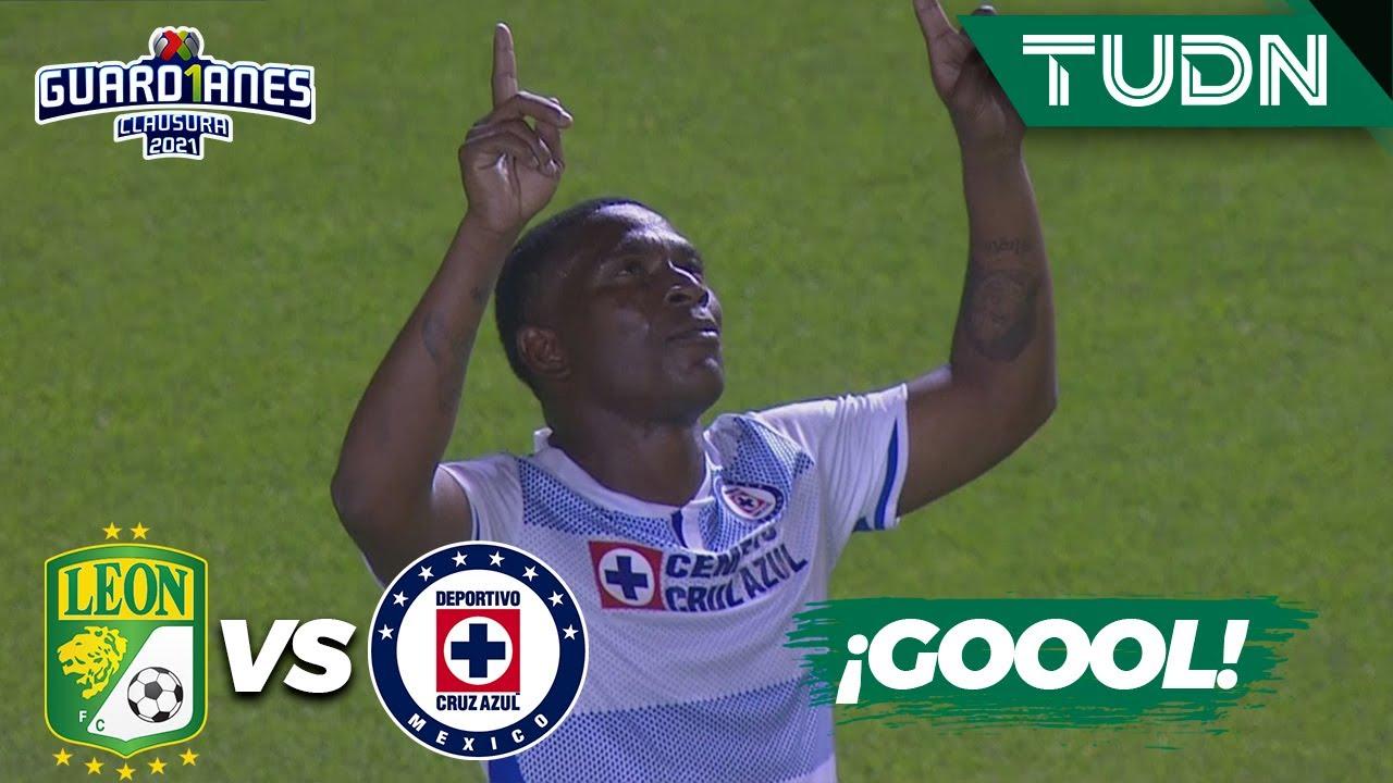 ¡GOLAZO! Angulo la hace de gala | León 0-0 Cruz Azul | Torneo Guard1anes 2021 Liga MX - J8 | TUDN