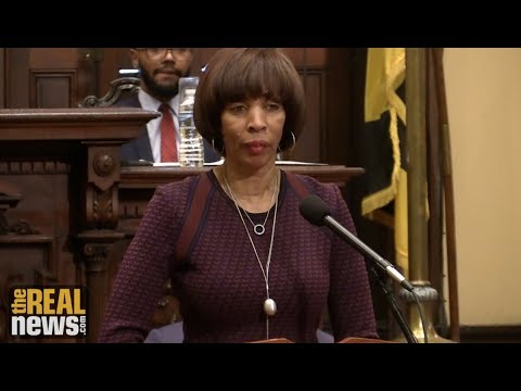 Baltimore Mayor Challenges Police Union to 'Give Respect'