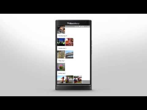 PRIV by BlackBerry - Getting Around The Smartphone Interface: Official How To Demo