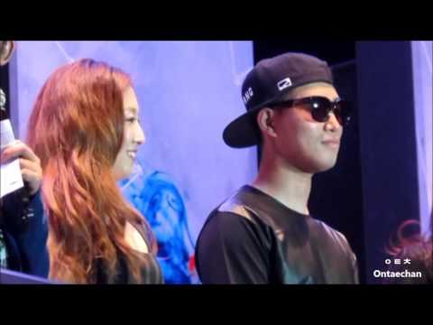 [FANCAM] 140816 NTU Fest in Singapore (Gary and JungIn's Interview)