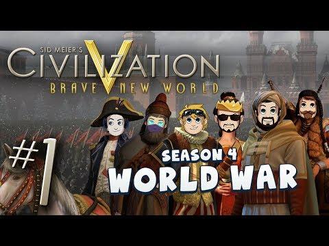 Civ 5 World War - Part 1: Rythian's Downfall
