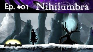 """Nascido do """"Nada""""! Nihilumbra Review + Gameplay PT/BR ( 2D Plataforma / Puzzle Artístico) PC Game"""