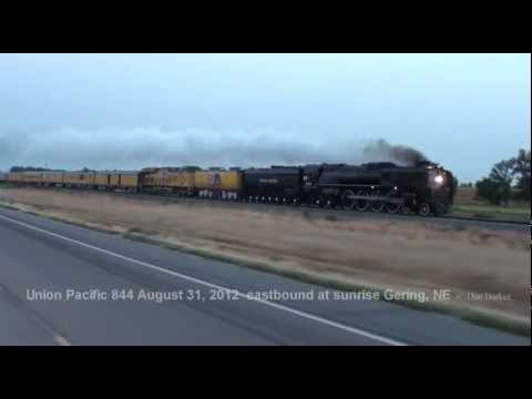 Union Pacific 844 to the Nebraska State Fair