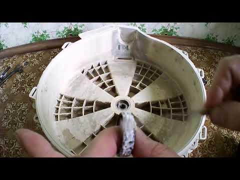 Ariston Hotpoint стиральная машина замена подшипников 2 часть