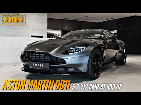 4K Aston Martin DB11 5.2 V12 AMR AT 639 hp Exterior & Interior views in 4K quality walkaround