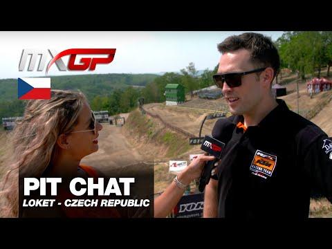 Pit Chat With Shaun Simpson MXGP Of Czech Republic 2019 #motocross