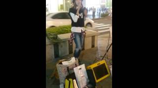 2015年10月10日(土) Mari7 なんば高島屋前ストリートライブ LOVEジェ...
