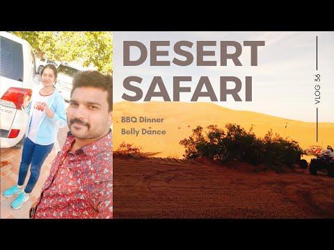 Desert Safari | Dune Bashing Land Cruiser | BBQ Dinner | Belly Dance | Dubai Trip EP #9