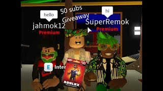 50 Sub Giveaway Competition!!! Roblox COMPLETED