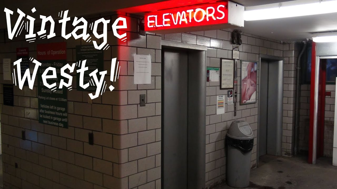 Garage Parking Stop >> Vintage Westinghouse traction elevator at the Allies ...