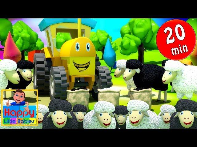 Baa baa black sheep + More Nursery Rhymes & Kids Songs -Happy Little Babies