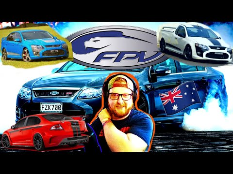 Фото American Learns about Australia's FPV (Ford Performance Vehicles)