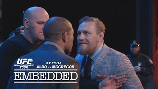UFC 189 World Championship Tour Embedded: Vlog Series - Episode 6
