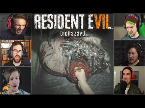 Gamers Reactions to Ethan Pulling Out a Snake Key | Resident Evil 7: Biohazard