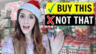 🎄What You SHOULD and SHOULDN'T Buy At The Dollar Tree FOR CHRISTMAS