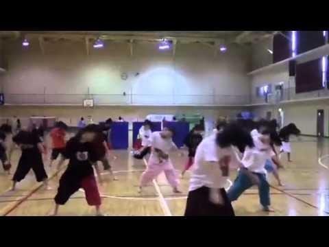 一条高校ダンス部ライブopening映像