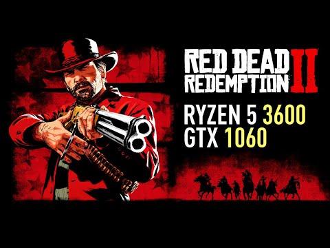 Red Dead Redemption 2 - GTX 1060 OC | Ryzen 5 3600 | Detailed Benchmark
