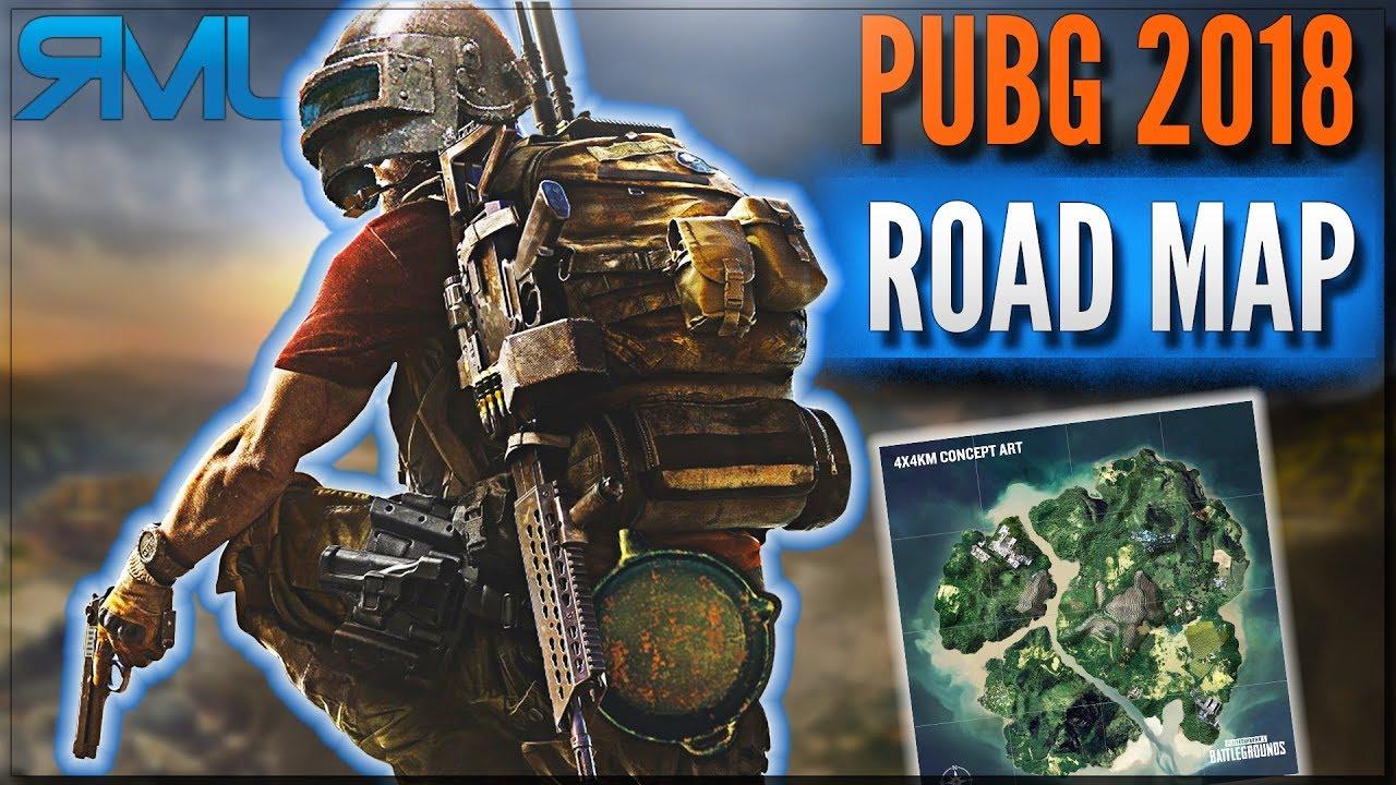 Pubg Road Map