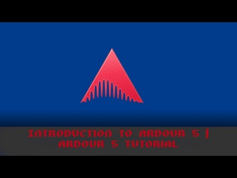 How to use the Ardour Interface | Ardour 5 Tutorial