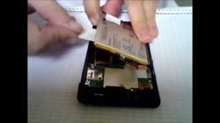 sony xperia z battery removed