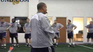 Notre Dame Football Strength and Conditioning