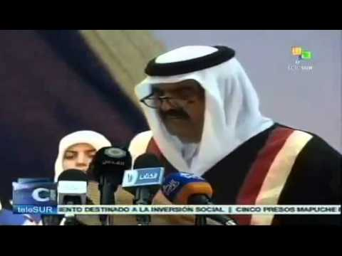 Qatari emir makes historic Gaza Strip visit