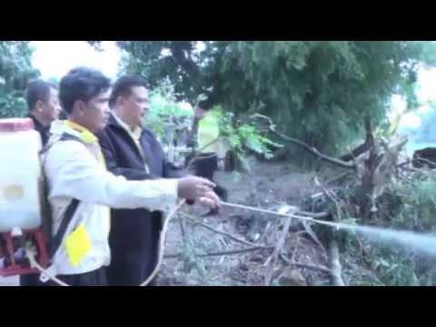 อำเภอเดิมบางนางบวช จัดโครงการคืนคลองให้น้ำไหล คืนความใสให้แม่น้ำทั่วประเทศ คลองระบายสุพรรณ 2