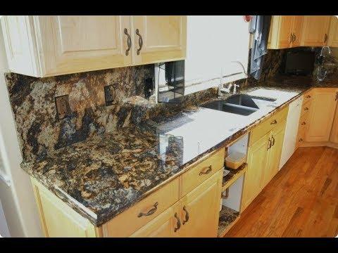 Desain Warna Granit Meja Dapur Natural Dan Elegan