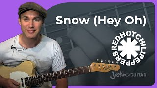 Riff #20: Snow (Hey Oh) - Red Hot Chili Peppers (Songs Guitar Lesson RF-020) How to play