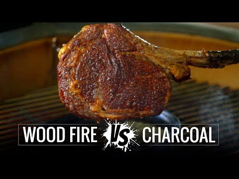 WOOD vs CHARCOAL grilled Steak! Which one is the BEST Steak?