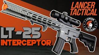 NEW Full-Metal LT-25 Interceptor | Quick Look Lancer Tactical
