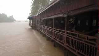Video - Heavy Monsoon Rain on Don Khon in the Four Thousand Islands in Laos