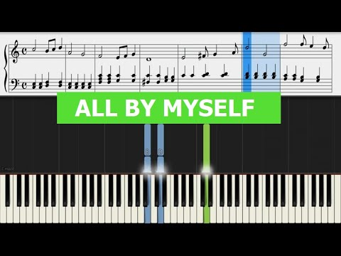 Celine Dion All  Myself  Piano Sheet Music