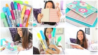 Back To School: Organization & Study Tips!! Thumbnail
